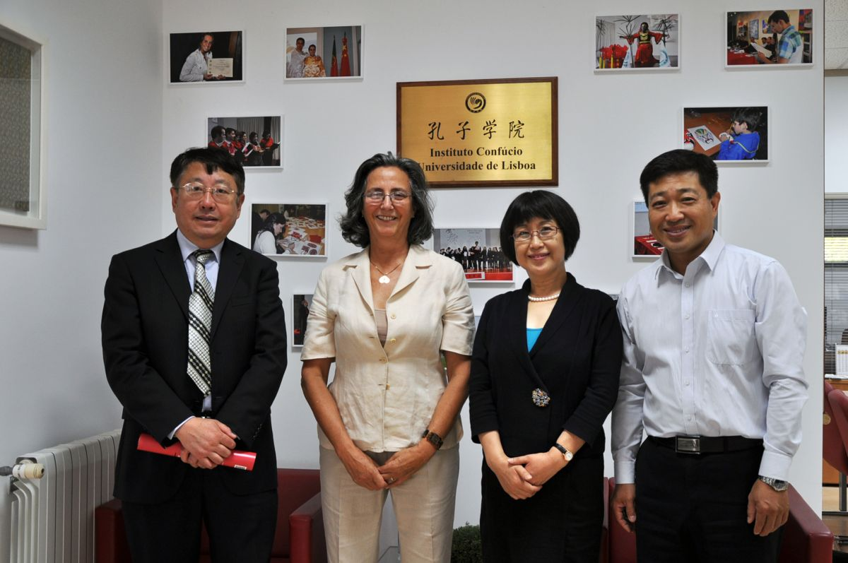 Visit delegation of Education section of the Chinese Embassy